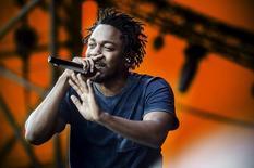 Kendrick Lamar no Festival Roskilde, em Copenhague.  3/7/2015. REUTERS/Simon Laessoee/Scanpix Denmark