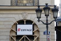 Le groupe Eiffage a officalisé mercredi la nomination de Benoît de Ruffray comme nouveau PDG du groupe de BTP, avec effet le 18 janvier 2016. /Photo prise le 23 septembre 2015/REUTERS/Charles Platiau