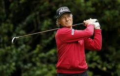Germany's Bernhard Langer in action during the final round. Action Images via Reuters / Paul Childs Livepic