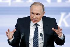 Президент России Владимир Путин 17 декабря 2015 года. REUTERS/Maxim Zmeyev