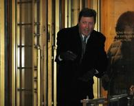 California hedge fund manager Doug Whitman exits the Manhattan Federal Courthouse in New York, following his sentencing, January 24, 2013. REUTERS/Brendan McDermid