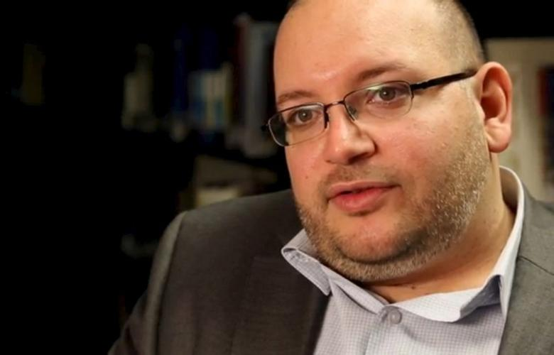 Washington Post reporter Jason Rezaian speaks in the newspaper's offices in Washington, DC in a November 6, 2013 file photo provided by The Washington Post. REUTERS/Zoeann Murphy/The Washington Post/Handout