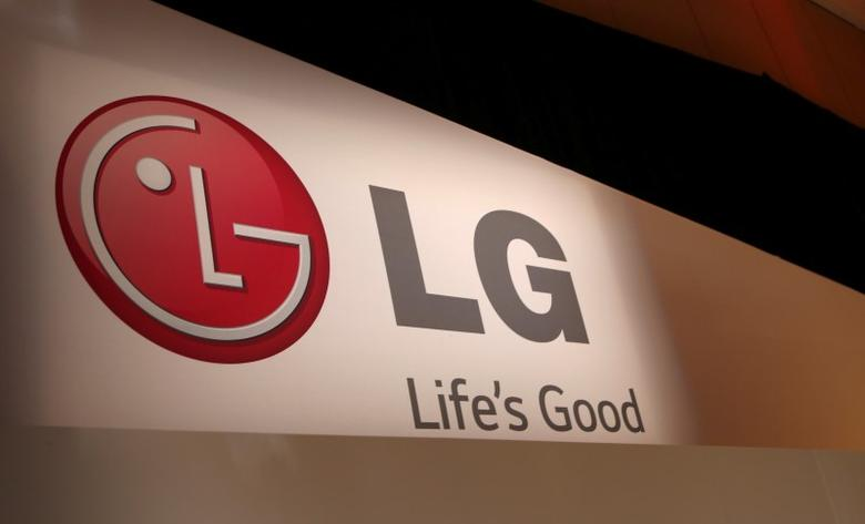 The LG company logo in Las Vegas, Nevada January 6, 2014. REUTERS/Robert Galbraith