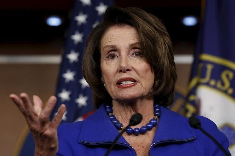 U.S. House Minority Leader Nancy Pelosi (D-CA) holds a weekly news conference at the U.S. Capitol in Washington January 7, 2016. REUTERS/Jonathan Ernst