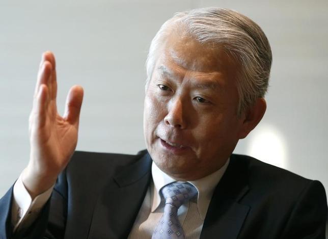 1月8日、JX金属の大井滋社長、当面の銅相場の見通しについて「回復には予想以上の時間がかかるかもしれない」と述べた(2016年 ロイター/)