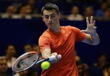 Indian Aces' Bernard Tomic in action Action Images via Reuters / Jeremy Lee