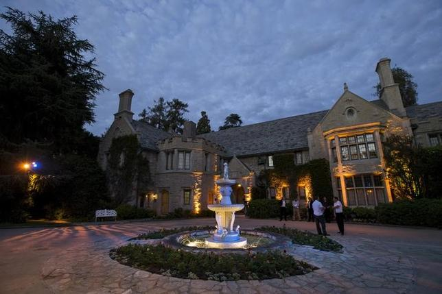 A general view of the Playboy Mansion during the premiere of ''The Transporter Refueled'' in Los Angeles, California August 25, 2015. REUTERS/Mario Anzuoni