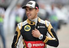 Pastor Maldonado of Lotus during practice in 2015. Mandatory Credit: Action Images / Hoch Zwei Livepic