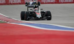 Formula One - F1 - Russian Grand Prix 2015 - Sochi Autodrom, Sochi, Russia - 10/10/15 Jenson Button of McLaren during qualifying Mandatory Credit: Action Images / Hoch Zwei