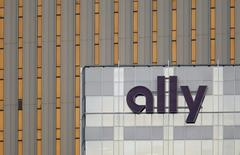 An Ally Financial sign is seen on a building in Charlotte, North Carolina May 1, 2012. . REUTERS/Chris Keane