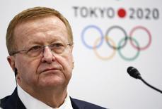 Vice-presidente do COI, John Coates, durante evento em Tóquio.   01/07/2015     REUTERS/Thomas Peter/Files