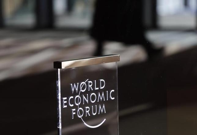 People leave the annual meeting of the World Economic Forum (WEF) in Davos, Switzerland January 23, 2016. REUTERS/Ruben Sprich