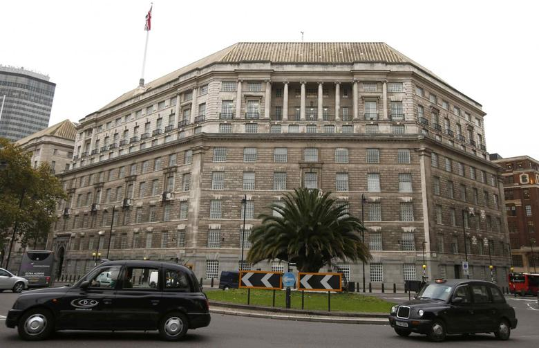 A file photograph shows Thames House, the headquarters of the British Security Service (MI5) in London, Britain October 22, 2015.  REUTERS/Peter Nicholls/files