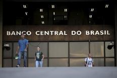 La sede del Banco Central, en Brasilia, 23 de septiembre de 2015. El déficit presupuestario primario de Brasil subió a 111.249 millones de reales (27.400 millones de dólares) en 2015, mostraron datos del Banco Central publicados el viernes, el peor resultado para la serie iniciada en 2001, reflejando la profundidad de la crisis fiscal en la mayor economía de América Latina. REUTERS/Ueslei Marcelino