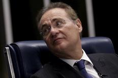Presidente do Senado, Renan Calheiros (PMDB-AL). 01/12/2015. REUTERS/Ueslei Marcelino
