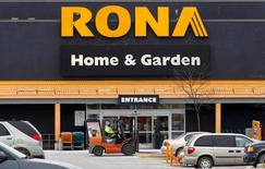A Rona store is pictured in Ottawa February 24, 2011.     REUTERS/Chris Wattie