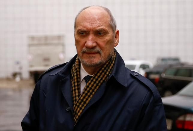 Antoni Macierewicz arrives to the headquarters in Warsaw, Poland November 9, 2015.  REUTERS/Kacper Pempel