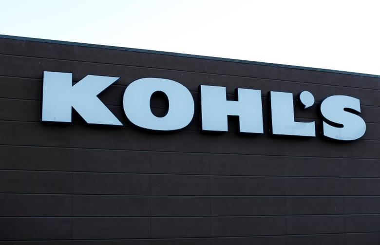 A Kohl's Department store is shown in Encinitas, California October 28, 2014. Kohl's reported their earnings on Tuesday. REUTERS/Mike Blake