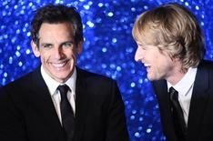 """Owen Wilson e Ben Stiller em divulgação do filme """"Zoolander 2"""" em Londres.  4/2/2016.  REUTERS/Dylan Martinez"""