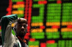 Le Chicago Stock Exchange, l'une des plus anciennes places boursières aux Etats-Unis, a annoncé vendredi son intention de se vendre à un groupe d'investisseurs emmené par la société chinoise Chongqinq Casin Enterprise Group. /Photo d'archives/REUTERS/Frank Polich