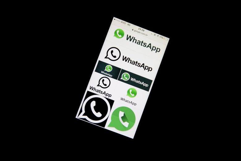 An illustration photo shows Whatsapp App logos on a mobile phone in Sao Paulo, Brazil,  December 16, 2015. REUTERS/Nacho Doce