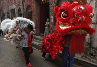 Celebrating Chinese New Year in Kolkata