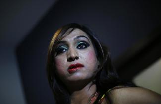 Transgender models