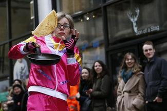 Great Pancake Race