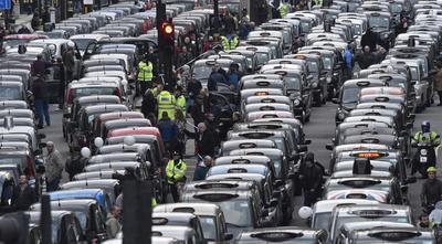 The anti-Uber movement
