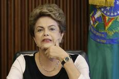 Presidente Dilma Rousseff durante reunião no Palácio do Planalto. 7/12/2015. REUTERS/Ueslei Marcelino
