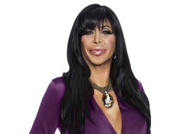 Angela Raiola, who was known as the character ''Big Ang'' on ''Mob Wives''.   REUTERS/VH1/Viacom