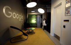 Google's new Canadian engineering headquarters in Kitchener-Waterloo, Ontario January 14, 2016. REUTERS/Peter Power