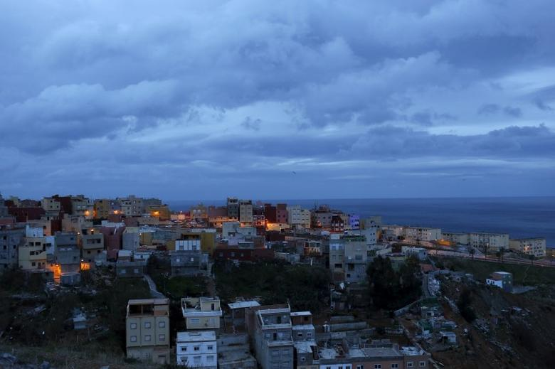Spain's North African enclave of Ceuta is seen in this March 1, 2014 file photo.  REUTERS/Juan Medina/Files