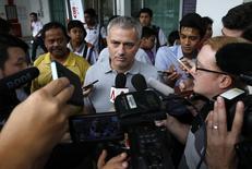 Mourinho, em Cingapura  24/2/2016 REUTERS/Edgar Su