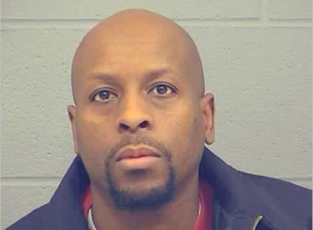 Cedric Ford, suspect in the Kansas shooting.   REUTERS/Harvey County Sheriff's Office