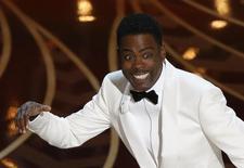 Apresentador Chris Rock durante a cerimônia do Oscar. 28/02/2016 REUTERS/Mario Anzuoni