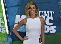 Show co-host Erin Andrews arrives at the 2015 CMT Awards in Nashville, Tennessee June 10, 2015. REUTERS/Eric Henderson