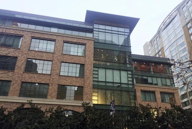 3月3日、米アップルの幹部らはこれまで長い間、カリフォルニア州の郊外にあるクパチーノの本社での勤務を従業員に求めてきた。写真はアップルが新オフィス開設を準備しているサンフランシスコのサウス・オブ・マーケット(SOMA)地区(2016年 ロイター/Julia Love)