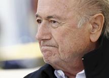 Ex-presidente da Fifa Joseph Blatter.   22/08/2015    REUTERS/Denis Balibouse