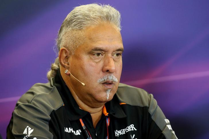 Force India team owner Dr. Vijay Mallya during a press conference Action Images / Hoch Zwei