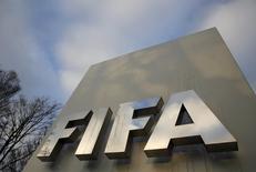 Logo da Fifa visto na sede, em Zurique.    17/12/2015      REUTERS/Ruben Sprich/Files