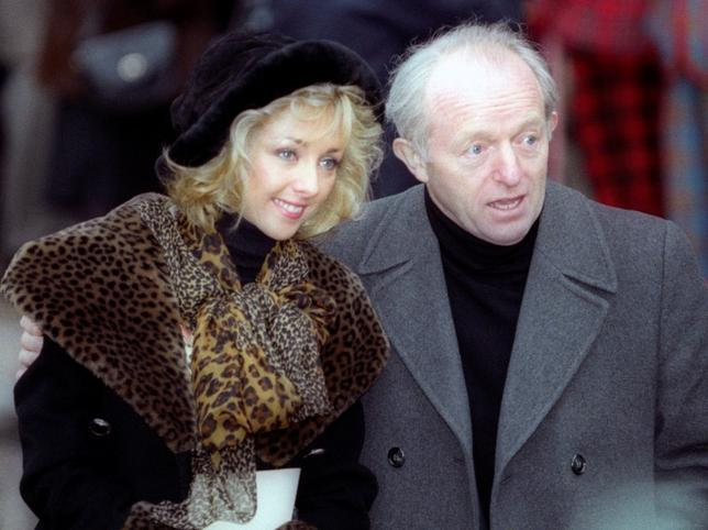 File photo of British magician Paul Daniels leaving a service of thanksgiving  in memory of the late comic Les Dawson at Westminster Abbey, in London February 24, 1994. REUTERS/Simon Kreitem