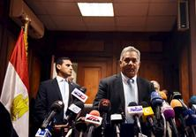 Ministro de Antiguidades egípcio, Mamdouh Eldamaty, durante conferência no Cairo.  17/03/2016     REUTERS/Mohamed Abd El Ghany