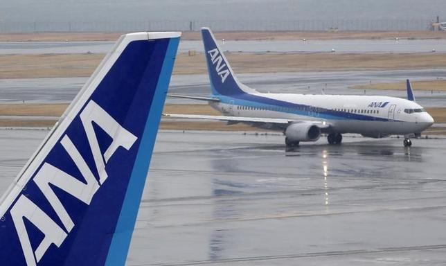 3月23日、全日本空輸は、ベルギーの空港などで起きた連続攻撃の影響を受け、3月末まで成田―ブリュッセル線の運航を一時見合わせることを決めた。都内で2014年撮影(2016年 ロイター/Yuya Shino)