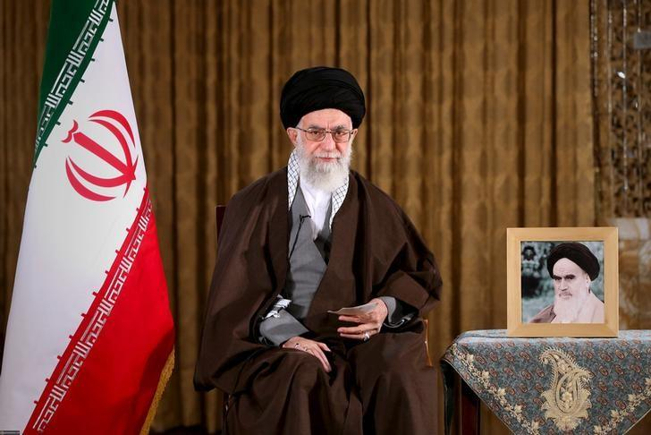 Iran's Supreme Leader Ayatollah Ali Khamenei poses before delivering a speech marking Nowruz, Iranian new year, in this handout photo released by the Iranian Supreme Leader website on March 20, 2016. REUTERS/leader.ir/Handout