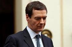Ministro das Finanças britânico, George Osborne.   22/03/2016      REUTERS/Eddie Keogh
