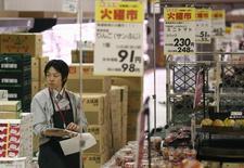 L'indice japonais des directeurs d'achat (PMI) Markit/Nikkei a reculé à 50,0 contre 51,2 en février en données corrigées des variations saisonnières, revenant sur le seuil de 50 qui marque la frontière entre croissance et contraction. /Photo d'archives/REUTERS/Yuya Shino
