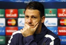 Zagueiro argentino do Manchester City Martín Demichelis.    24/11/2014      REUTERS/Phil Noble