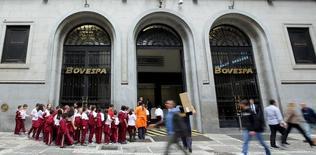 Fachada da sede da BM&FBovespa no centro de São Paulo 10/09/2015 REUTERS/Paulo Whitaker