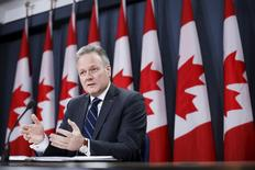 Bank of Canada Governor Stephen Poloz speaks during a news conference in Ottawa, Canada, January 20, 2016. REUTERS/Chris Wattie